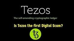Is Tezos a digital scam?