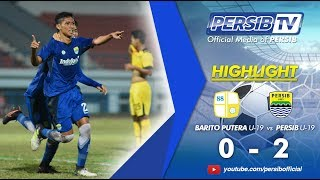 Download Video [Highlight] Barito Putera U-19 (0) vs (2) PERSIB U-19 | Babak 8 Besar Liga 1 U-19 2017 MP3 3GP MP4