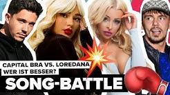 Song Quiz Duell💥Katja Krasavice, Capital Bra, Lena, Nico Santos, Lina & Co. im Deutsch Rap-Battle