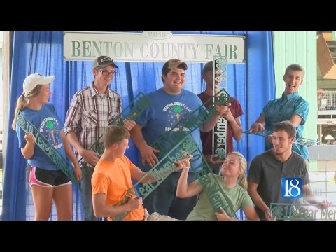 Benton Co. residents take part in special moment at fair