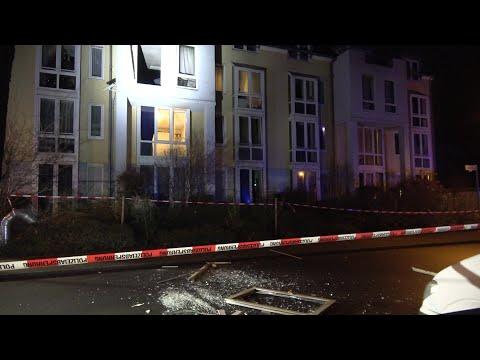 Verpuffung In Wohnung - 2 Verletzte - THW Im Einsatz In Bonn-Tannenbusch Am 08.01.20 + O-Töne