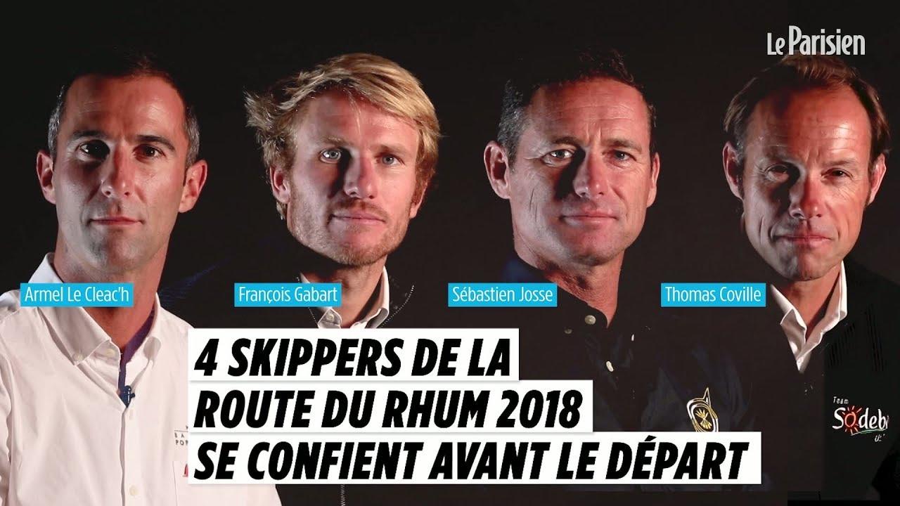 Route du Rhum 2018 : ces 4 skippeurs vont tenter la traversée en 6 jours