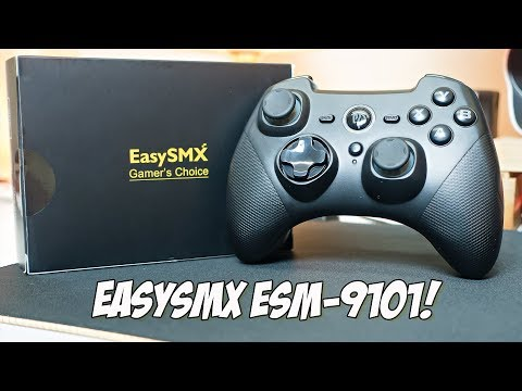 EasySMX ESM 9101 Wireless Game Controller Review