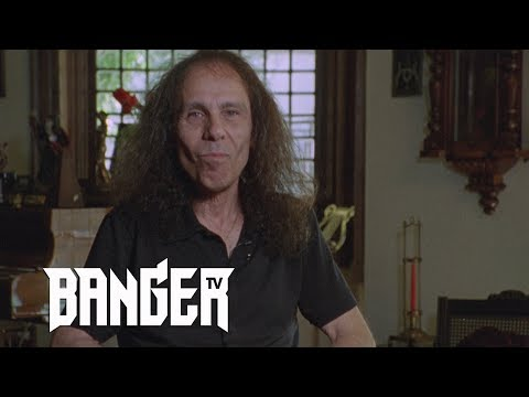 RONNIE JAMES DIO  on metal and quality   Raw & Uncut