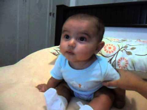 Oliver 5 meses sentado sozinho beb 5 meses sentado - Cereales bebe 5 meses ...