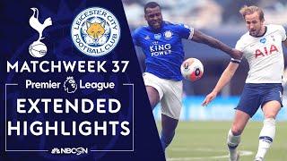 Tottenham v. Leicester City | PREMIER LEAGUE HIGHLIGHTS | 7/19/2020 | NBC Sports