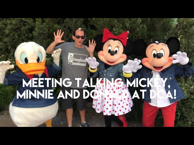 Popular Disneyland Characters Are Now Able To Talk During Meet And