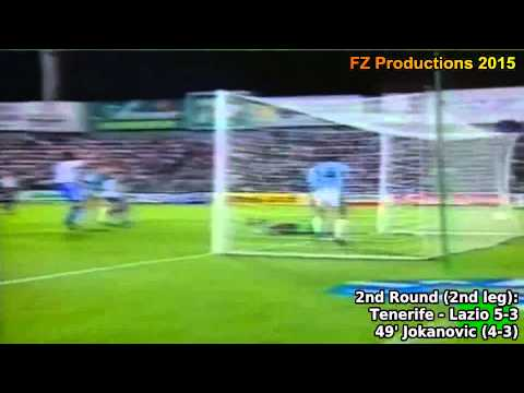 1996-1997 Uefa Cup: CD Tenerife All Goals (Road to Semifinals)