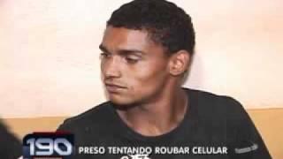 Ladrão Mineiro Preso outra vez, agora em Uberlândia - Parte 02