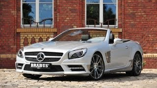 Brabus Mercedes SL Roadster 2012 Videos