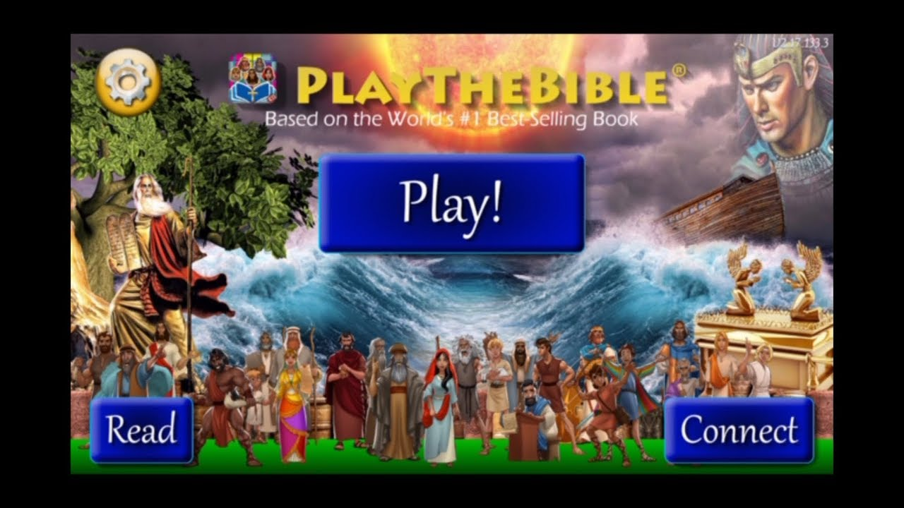 Play the Bible Game! Ultimate Verses - First play video game review!