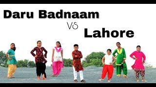 Daru Badnam VS Lahore Dance | Arjun Dancer Choreography | Easy Bollywood Hip Hop