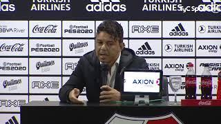 Conferencia de Marcelo Gallardo, luego de la victoria 2-0 de River ante Patronato