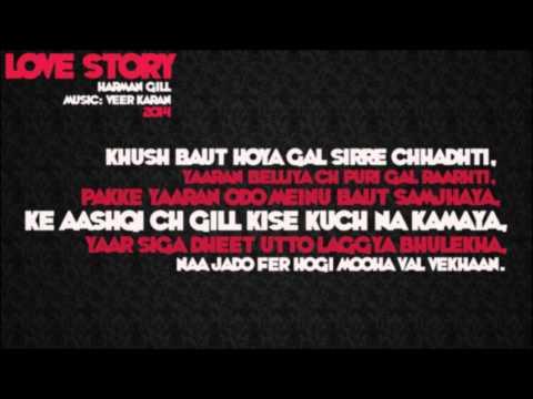 """Harman Gill - """"Love Story"""" (Music: Veer Karan) PUNJABI SONG 2014"""