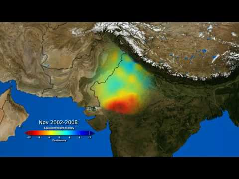 Groundwater Depletion in India Revealed by GRACE
