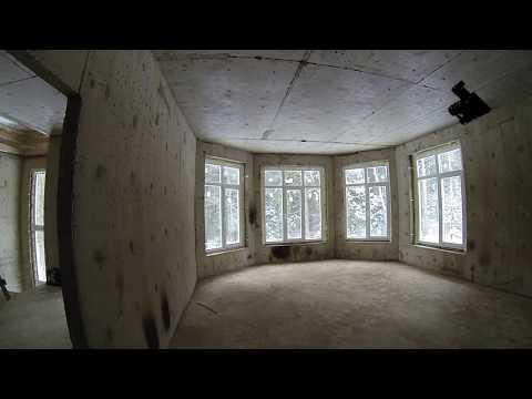Стены 100 мм Монолитный дом обзор   Walls of 100 mm Monolithic house review