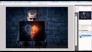 Урок 1 - Сердце в фотошопе - режимы наложения