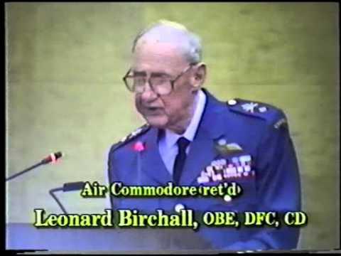 Leadership; Air Commodore L Birchall as a POW