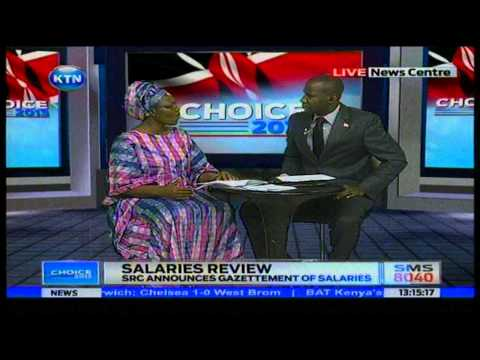News: State officers salaries to be standardised: Interview James Smart and Sarah Serem
