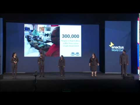 Enactus World Cup 2014 - Final Round Competition - Third Place - Puerto Rico