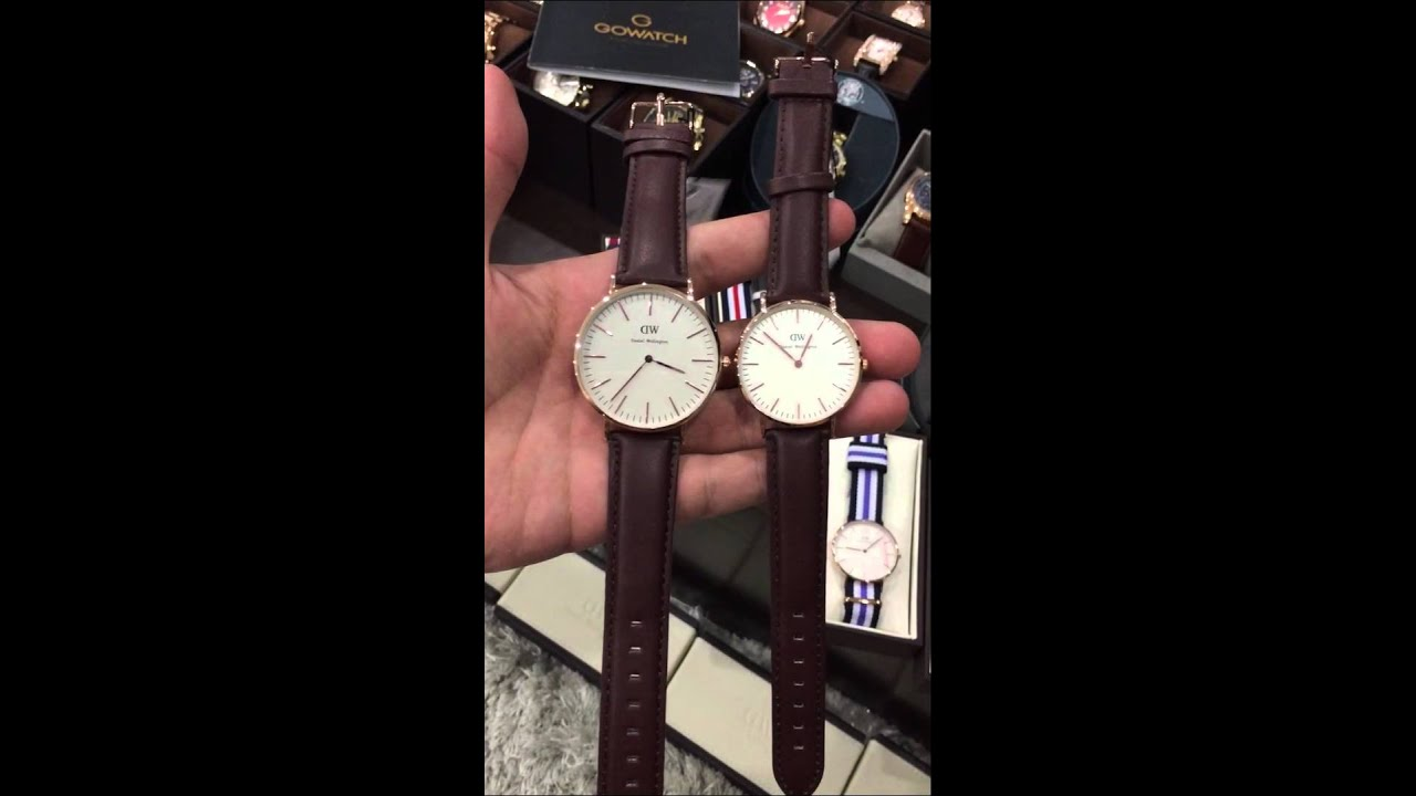 daniel wellington classic st mawes eggshell white dial men 39 s watch 0511dw youtube. Black Bedroom Furniture Sets. Home Design Ideas