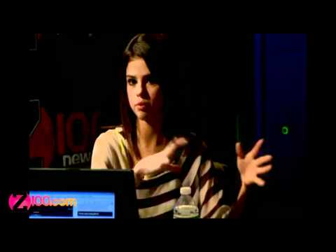 Selena Gomez on Ghosts - Z100 NY Chat Snippet