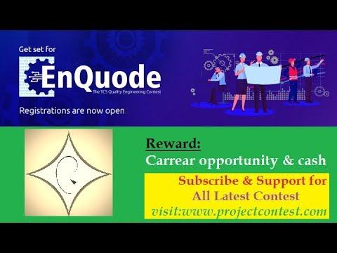 TCS EnQuode- 2019 I Contest based hiring