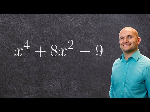 Factoring A Polynomial To The Fourth Power Using Factoring To Second Power