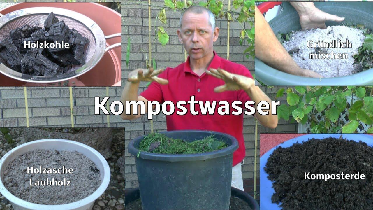 Holzasche Dünger kompost und kompostwasser für die düngung mal anders