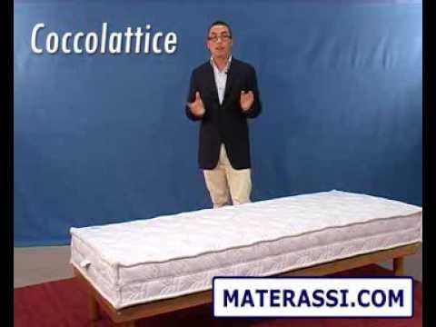 Materassi Com.Materasso In Lattice E Cocco Coccolattice Youtube