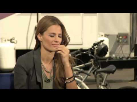 "Castle star ""Stana Katic"" OTRC Interview"