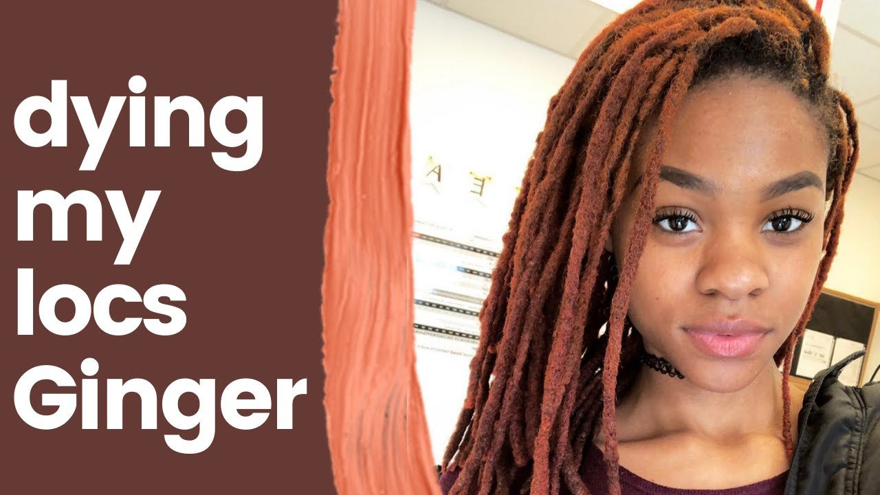 DYING MY LOCS GINGER: L\'Oreal HiColor