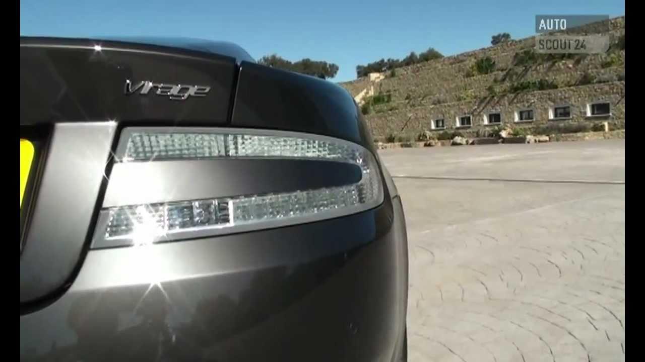 Aston Martin Virage Testbericht Autoscout24 Youtube