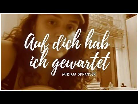 Auf dich hab ich gewartet - Annett Louisan [Miriam Spranger Interpretation / Akustikgitarren-Cover]