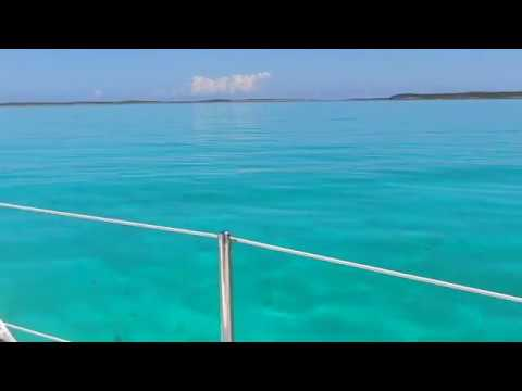 Sail Farmer's Cay to Staniel Cay - the full tour