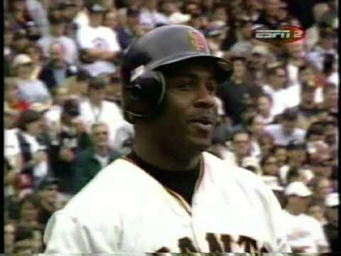 Barry Bonds 73rd homerun 2001 ESPN telecast