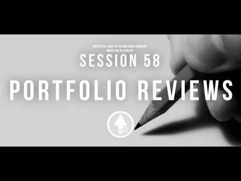 Level Up! Session 58 PORTFOLIO REVIEWS