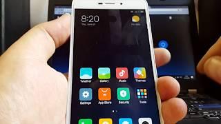 Сброс MI аккаунта Xiaomi Remi 4A MIUI 9