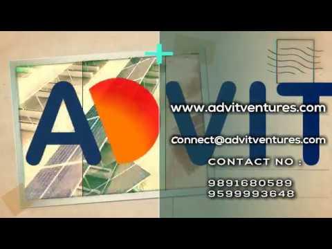 Advit Ventures Solar Plant Cold Storage Chandigarh 60kWp || Solar PV Plant EPC experts