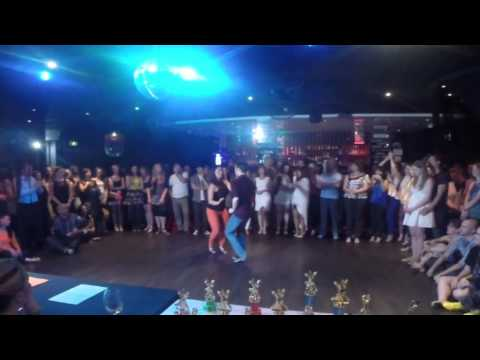 Adelaide's Best Social Dancer Competition Series 2014 - Finals - Bachata - Andew and Cheryl