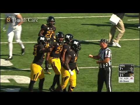 HIGHLIGHTS: Mizzou Football Dominates Homcoming Game Against Idaho, 68-21
