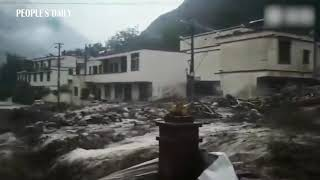 Mudslides hit Wenchuan, SW China's Sichuan