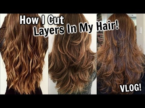 How to Cut Layers In Your Hair