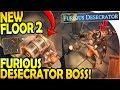 NEW FLOOR 2 FORSAKEN DUNGEON (FURIOUS DESCECRATOR BOSS) - Grim Soul Dark Fantasy Survival Update 1.3