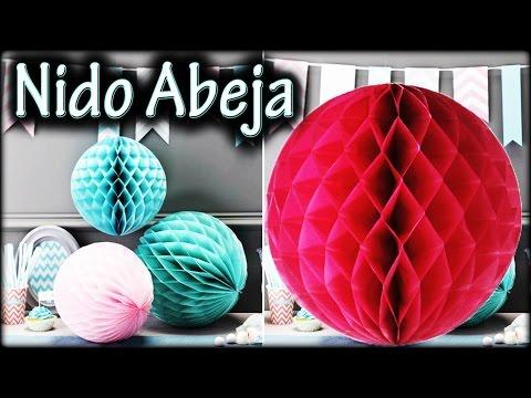 BOLA/ESFERA Nido de ABEJA | Decoración para fiesta