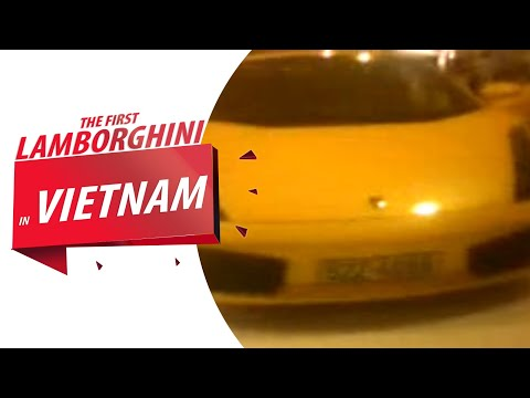 the first Lamborghini at VietNam