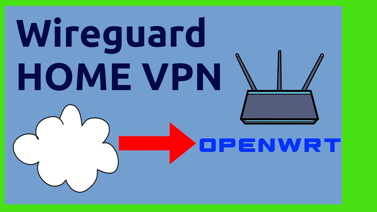 Vpn For Your Home Network With Wireguard On Openwrt And Iphone Connecting To Linux Vpn Youtube