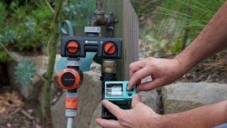 Easy DIY home drip irrigation system