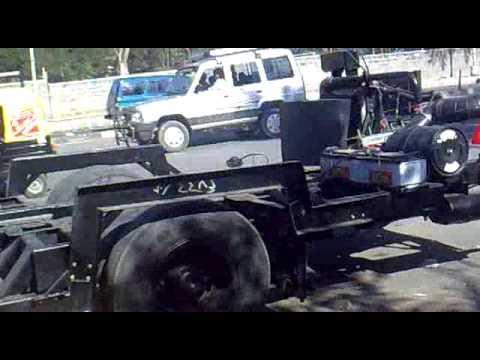 Ashok Leyaland Bus Chasis-back Engine