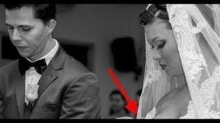 Это свадебное фото вызвало шквал комментариев в Интернете.